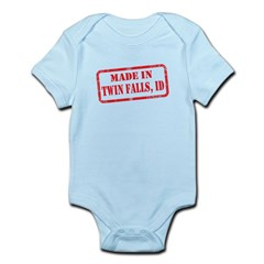 MADE IN TWIN FALLS, ID Infant Bodysuit