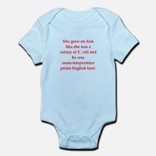 funny science joke Infant Bodysuit