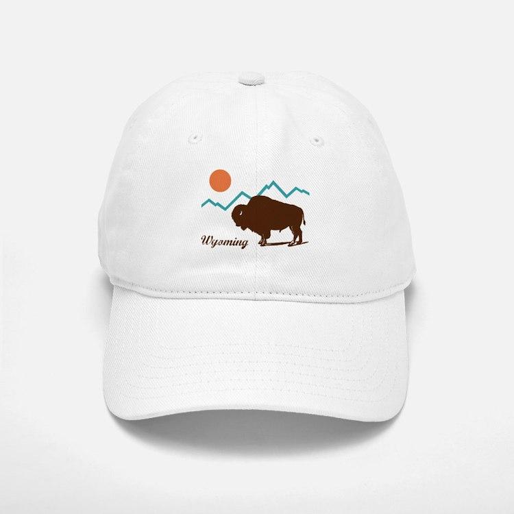 Wyoming Baseball Baseball Cap