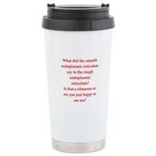 funny science joke Travel Mug