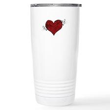 Cute Broken heart Travel Mug