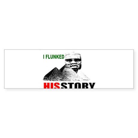 Black history dropout Sticker (Bumper 10 pk)