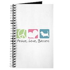 Peace, Love, Bassets Journal