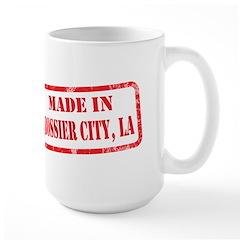 MADE IN BOSSIER CITY, LA Mug