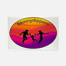 Skinnydipper Logo Rectangle Magnet