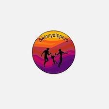Skinnydipper Logo Mini Button