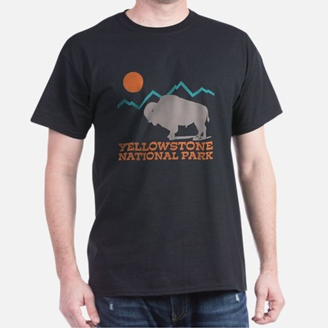 Yellowstone Buffalo Dark T-Shirt
