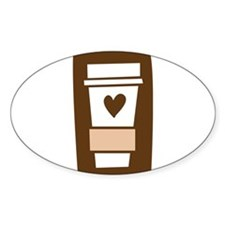 Latte Love Decal