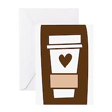 Latte Love Greeting Card