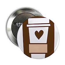 """Latte Love 2.25"""" Button"""
