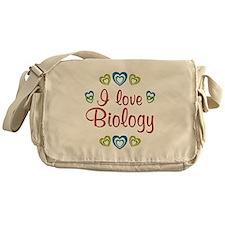 I Love Biology Messenger Bag