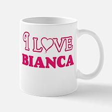 I Love Bianca Mugs