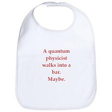 funny science joke Bib