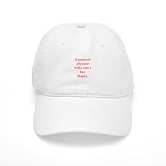 funny science joke Baseball Cap