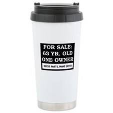 For Sale 63 Year Old Travel Mug