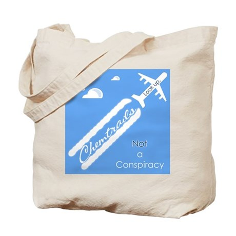 Chemtrail Tote Bag (Double Sided)