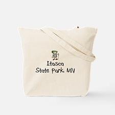 Hike Itasca (Girl) Tote Bag