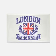 London England Rectangle Magnet