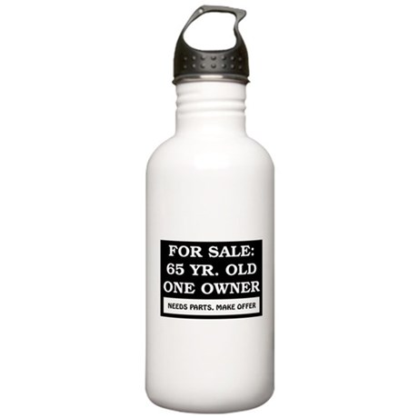 For Sale 65 Year Old Stainless Water Bottle 1.0L