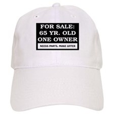 For Sale 65 Year Old Baseball Cap