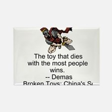 Broken Toys: China's Song Rectangle Magnet