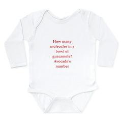 funny science joke Long Sleeve Infant Bodysuit