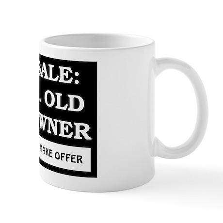 For Sale 66 Year Old Mug