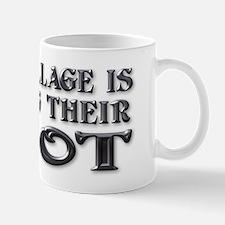 Your Village ... Idiot Mug