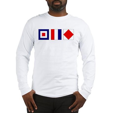 WTF Nautical Signal Flags Long Sleeve T-Shirt