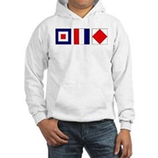 WTF Nautical Signal Flags Jumper Hoody