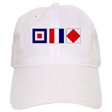 WTF Nautical Signal Flags Baseball Baseball Cap