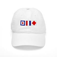WTF Nautical Signal Flags Baseball Cap
