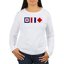 WTF Nautical Signal Flags T-Shirt