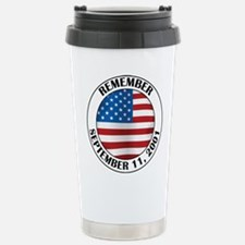 Remember 9-11 Stainless Steel Travel Mug
