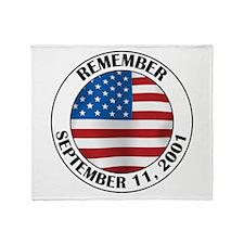 Remember 9-11 Throw Blanket
