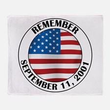Remember 9-11 Throw Blanket