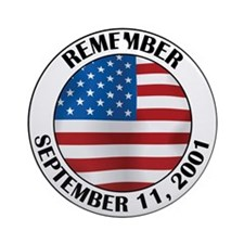 Remember 9-11 Ornament (Round)