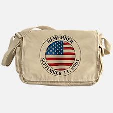 Remember 9-11 Messenger Bag