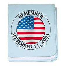 Remember 9-11 baby blanket