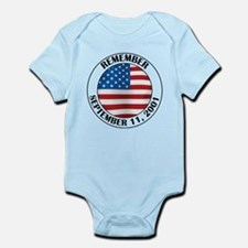 Remember 9-11 Infant Bodysuit