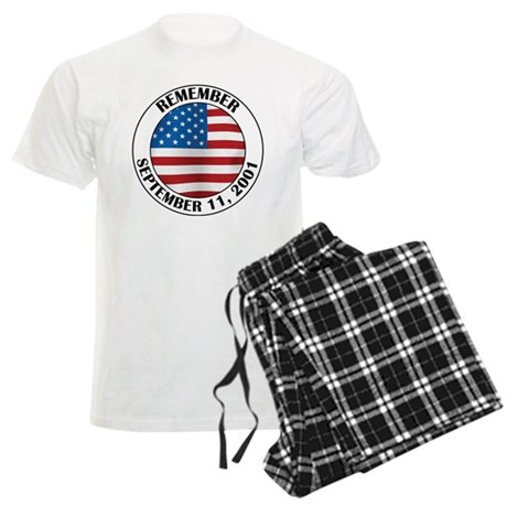 Remember 9-11 Men's Light Pajamas