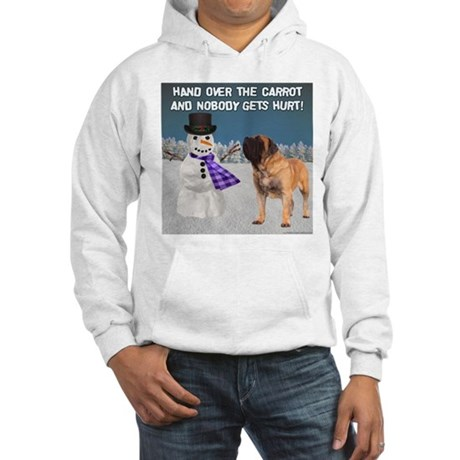 Apricot Mastiff Christmas Hooded Sweatshirt