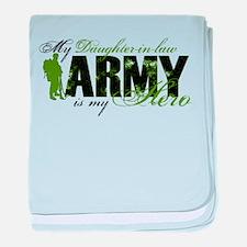 Daughter-in-law Hero3 - ARMY baby blanket