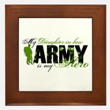 Daughter-in-law Hero3 - ARMY Framed Tile