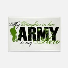 Daughter-in-law Hero3 - ARMY Rectangle Magnet