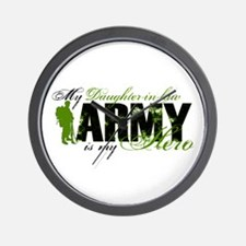 Daughter-in-law Hero3 - ARMY Wall Clock