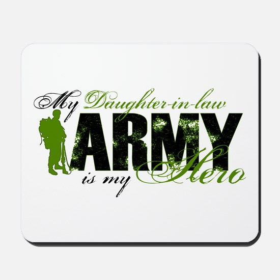 Daughter-in-law Hero3 - ARMY Mousepad