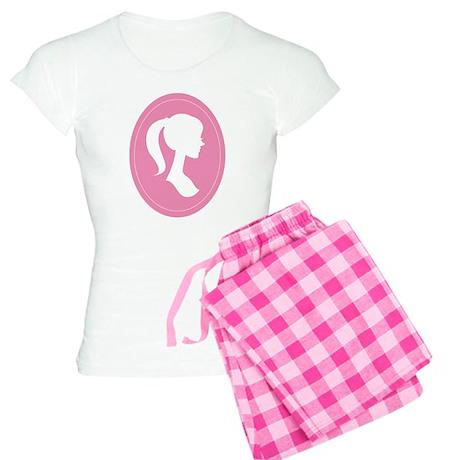 Mother Daughter Silhouette Women's Light Pajamas