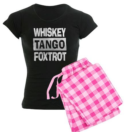 Whiskey Tango Foxtrot (WTF) Women's Dark Pajamas