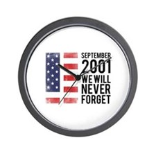 9 11 Remembering Wall Clock